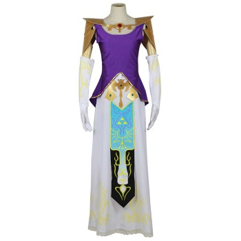 Legend Of Zelda Princess Cosplay Costume