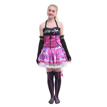 Love Live! Yazawa Nico Electronic Dresses Cosplay Costumes