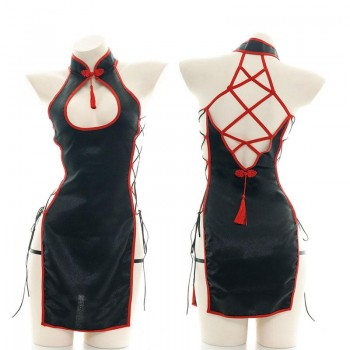 Cheongsam Straps sexy Lingerie Cosplay Costume