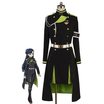 Cosplay Costume Seraph of the End Shigure Yukimi Uniform Anime