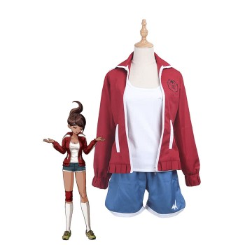 Danganronpa Aoi Asahina Game Cosplay Costume