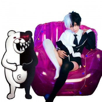 Danganronpa: Trigger Happy Havoc Monokuma Hoodie Personification Cosplay Costume