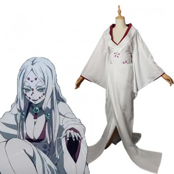 Demon Slayer Rui Spider Mother Cosplay Costume