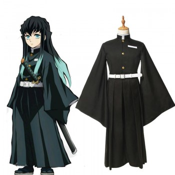 Demon Slayer Tokitou Muichirou Male Uniform Cosplay Costume