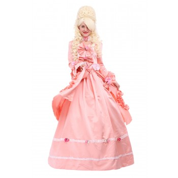 Marie Antoinette Baroque Victorian Dress Cosplay Costome