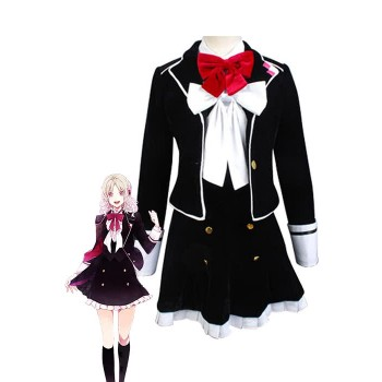 Diabolik Lovers Yui Komori School Uniform Cosplay Costume