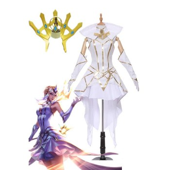 LOL Lux Star Guardian Cosplay Costume