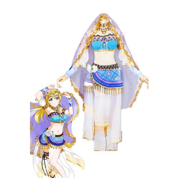 Love Live! Arab Dancers Awaken Eli Ayase Anime Cosplay Costumes