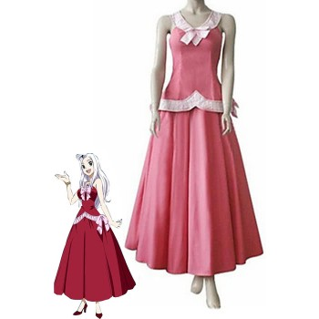 Fairy Tail Mirajane·Strauss Cosplay Costume Party Dress