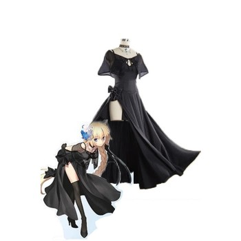 Fate/Grand Order Fate GO Jeanne D'Arc Black Cosplay DressGame Cosplay Costumes