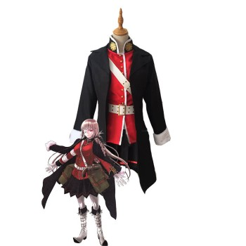 Fate Grand Order FGO Nightingale Red Black Cosplay Costumes
