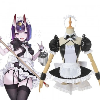 Fate/Grand Order Shuten Doji Maid Cosplay Costume