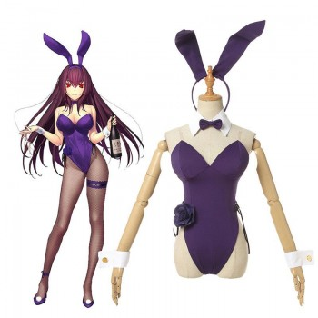 FGO Fate Grand Order  Scathach Scáthach Bunner Girl Cosplay Costume