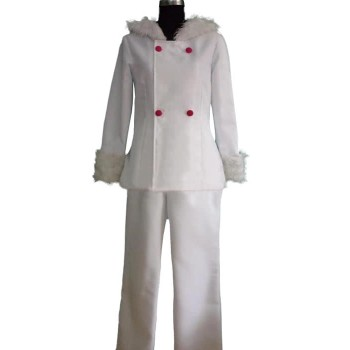 Durarara Orihara Izaya Cosplay Costume Uniform White