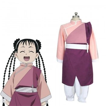 Fullmetal Alchemist Cosplay May Chang Kung Fu Costume Uniform Custom Made