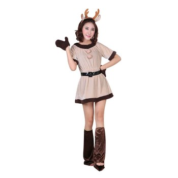 Christmas Costume Deer Christmas Dress