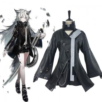 Game Arknights Lappland Cosplay Costume