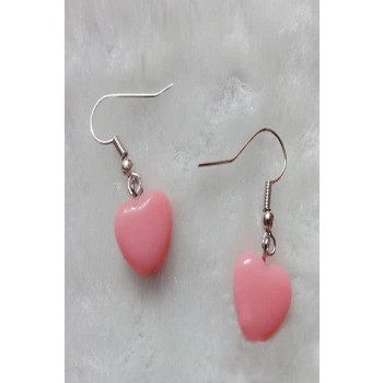 Fairy Tail Association Lucy Heartphilia Earring Pink