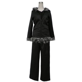 Durarara Orihara Izaya Cosplay Costume Uniform Black 2