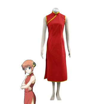 Gintama Kagura 1th Version Cosplay Costume