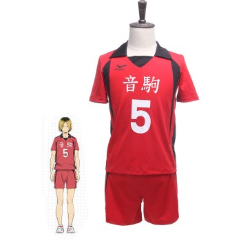 Haikyū!! kozumekenma Number 5 Volleyball Sportswear Cosplay Costumes GC203B