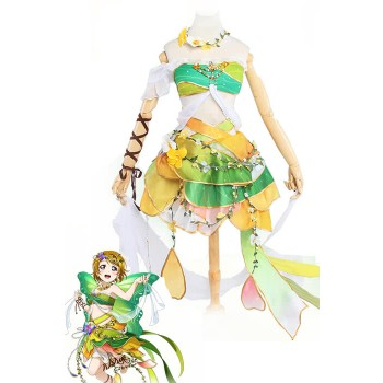 Love Live! Flower Fairy Awaken Koizumi Hanayo Fancy Cosplay Dress