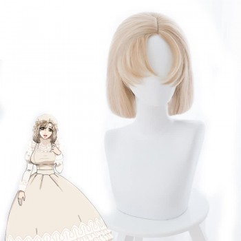Hataraku Saibou Cells At Work Macrophage Long Blonde Cosplay Wigs