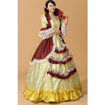 Victorian Maiden Stacked Belle New Sweet Costume Dress
