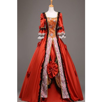 Special Bowknot Gothic Victorian Dress Cosplay Costume