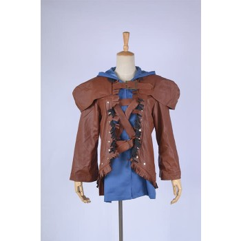 LOL Ezreal Brown Cosplay Costume