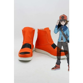 Pokemon Cosplay Shoes Orange Attractive