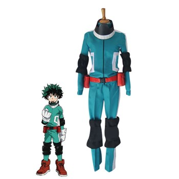 My Hero Academia Izuku Midoriya Anime Cosplay Costumes Battle Costumes