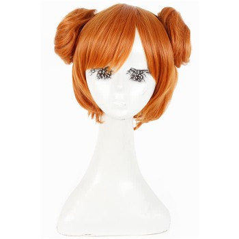 30cm short Love Live! Orange Kousaka Honoka Cosplay Wig