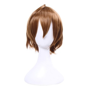 Durarara!! Orihara Kururi Short Brown Anime Cosplay Wigs