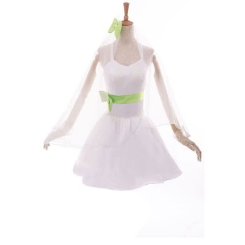 Love Live! Kotori Minami Anime Cosplay Costumes White Little Formal Dress Bridesmaid Dresses