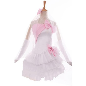 Love Live! Honoka Kōsaka Anime Cosplay Costumes White Little Formal Dress Bridesmaid Dresses