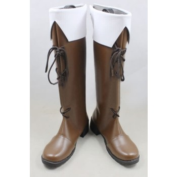 Hetalia: Axis Powers Finland Anime Cosplay Shoes Customized Long Boots