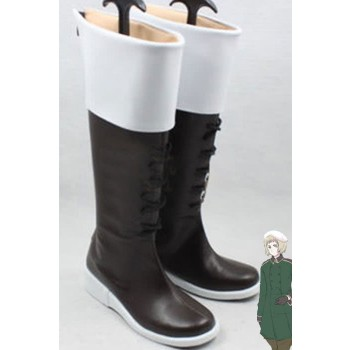 Hetalia: Axis Powers Switzerland Anime Cosplay Shoes Customized  Long Boots