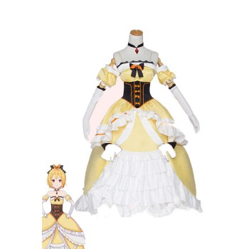Re: Zero-Starting Life In Another World Felt Cosplay Costumes Queen Dresses
