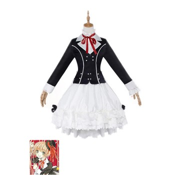 Cardcaptor Sakura 20 Years Memorial album Cosplay Costumes Gothic Suits