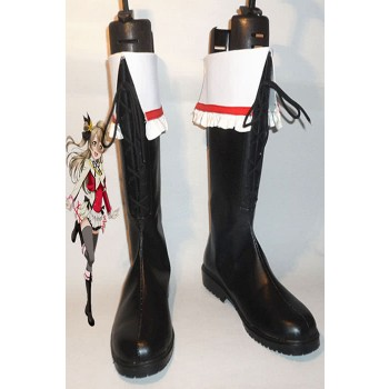 Love Live! Kousaka Honoka Black Boots Cosplay Boots Boot Shoes