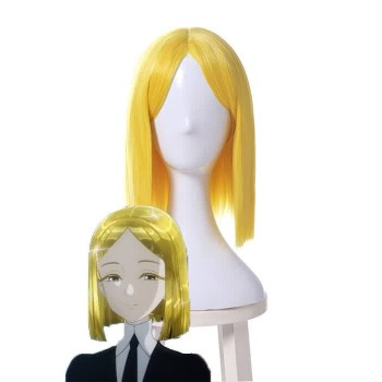 Land of the Lustrous Houseki no Kuni Yellow Diamond Short Yellow Synthetic Cosplay Wigs