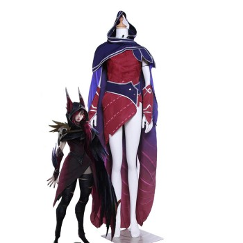LOL Xayah Game Cosplay Costumes