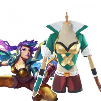 LOL Arcade Kai'sa Cosplay Costume Full Sets