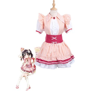 Love Live! Nico Yazawa Cosplay Costume Cake Dress