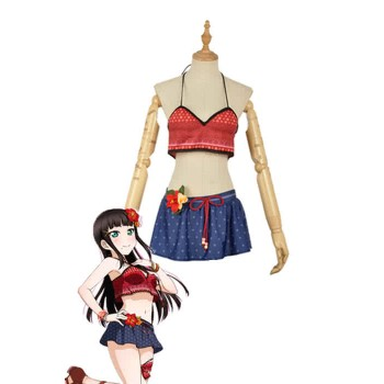 Love Live Sunshine Angel Aqours Unawaken Dia Kurosawa Swimsuit Anime Cosplay Costumes