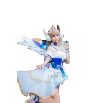 Love Live Sunshine You Watanabe Angel Aqours Set Dress Cosplay Costumes