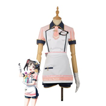Love Live Ice Cream Nico Yazawa Anime Cosplay Costumes