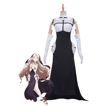 Magical Girl Raising Project Sister Nana Cosplay Costumes Nun-like Dresses