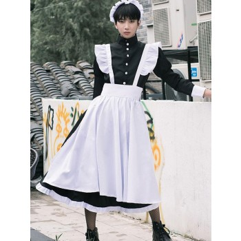 Maid Outfit Gender Conversion Boys Male Cosplay Costume